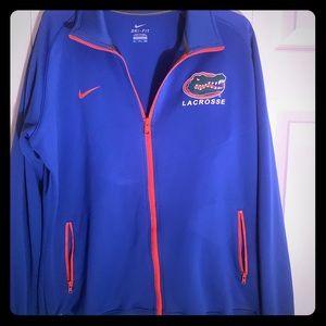 Ladies Plus Size Florida Gators Lacrosse Jacket